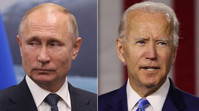 Tổng thống Nga Vladimir Putin (trái) và Tổng thống Mỹ Joe Biden - Ảnh: Reuters.