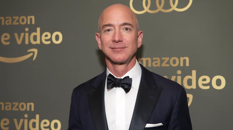 Ông Jeff Bezos, nhà sáng lập kiêm CEO Amazon.