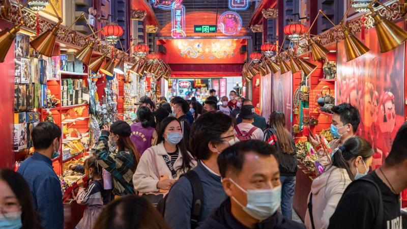 Nền kinh tế Trung Quốc đang phục hồi mạnh sau đại dịch - Ảnh: Bloomberg.