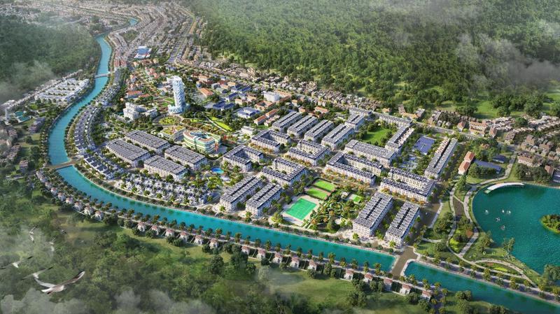 Picenza Riverside - Khu đô thị cao cấp tại thành phố Sơn La.