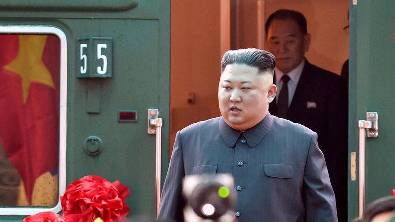 Nhà lãnh đạo Triều Tiên Kim Jong Un tới Việt Nam dự thương đỉnh Mỹ-Triều tháng 2/2019 - Ảnh: Reuters.