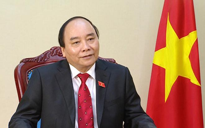 Thủ tuớng Nguyễn Xuân Phúc.<br>