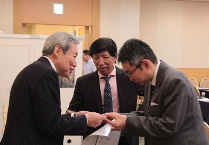 Đại diện doanh nghiệp Việt - Nhật gặp gỡ tại một hội thảo xúc tiến đầu tư.<br>