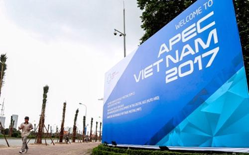 Việc tổ chức thành công hội nghị APEC 2017 được kỳ vọng sẽ không chỉ đem  lại cho Việt Nam những đánh giá cao trong công tác tổ chức, mà còn thể  hiện vai trò người dẫn đường của Việt Nam - Ảnh: APEC2017.vn.<br>
