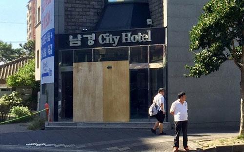 Do lượng du khách Trung Quốc giảm mạnh, một khách sạn ở Jeju đã phải tạm ngừng hoạt động.<br>