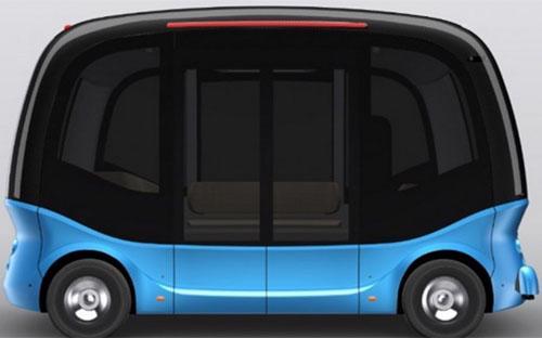 Ảnh ý tưởng xe bus không người lái mà Baidu dự định sản xuất - Ảnh: Baidu/SCMP.<br>