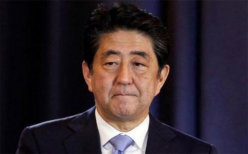 Thủ tướng Nhật Bản Shinzo Abe.<br>
