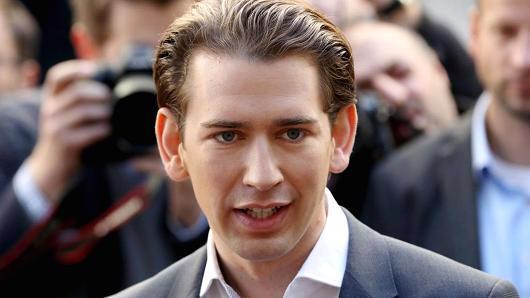 Ông Sebastian Kurz, Ngoại trưởng Áo, Chủ tịch Đảng Nhân dân Áo - Ảnh: Getty/CNBC.<br>