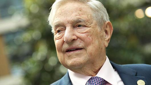 Tỷ phú George Soros - Ảnh: Getty/CNBC.<br>