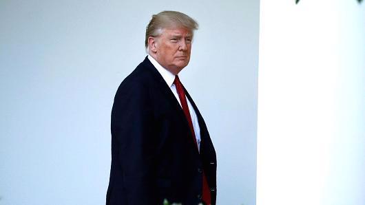 Tổng thống Mỹ Donald Trump - Ảnh: Reuters/CNBC.<br>