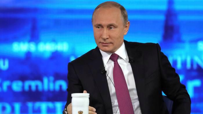Tổng thống Nga Vladimir Putin - Ảnh: Reuters/FT.<br>