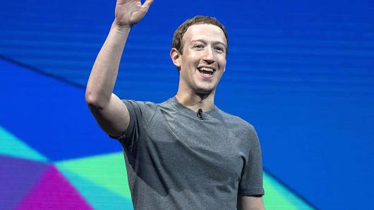 Nhà sáng lập kiêm Tổng giám đốc Facebook Mark Zuckerberg - Ảnh: Getty/CNBC.<br>