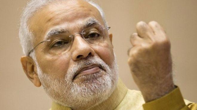 Thủ tướng Ấn Độ Narendra Modi - Ảnh: BBC.<br>