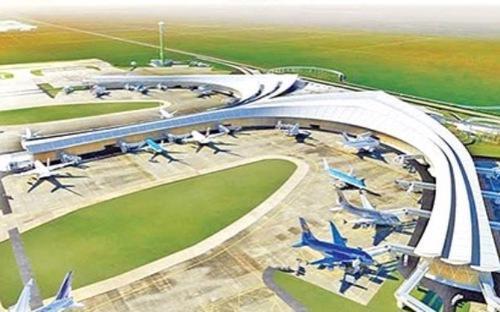 Công suất dự kiến của sân bay Long Thành đạt 100 triệu hành khách/năm và 5 triệu tấn hàng hóa/năm, được chia làm 3 giai đoạn.
