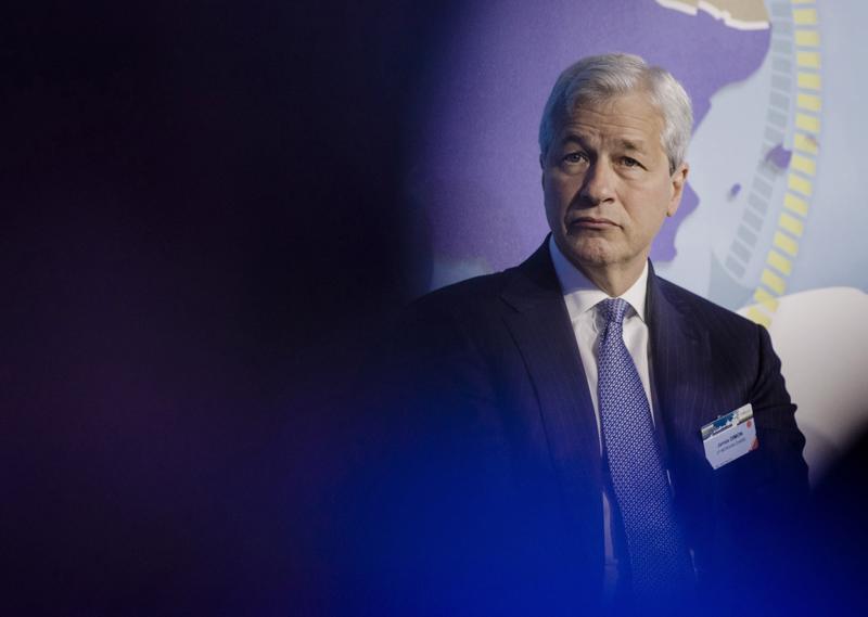 Giám đốc điều hành (CEO) ngân hàng JPMorgan Chase, ông Jamie Dimon - Ảnh: Bloomberg.<br>
