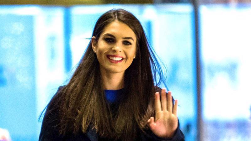 Cựu người mẫu 28 tuổi Hope Hicks, người vừa được Tổng thống Donald Trump bổ nhiệm làm Giám đốc truyền thông lâm thời của Nhà Trắng - Ảnh: BBC.<br>
