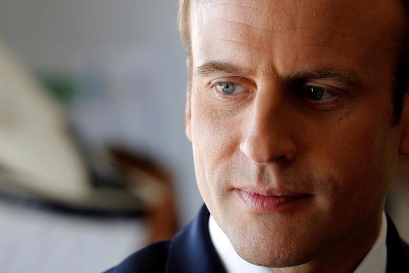 Tổng thống Pháp Emmanuel Macron - Ảnh: Reuters/Business Insider.<br>