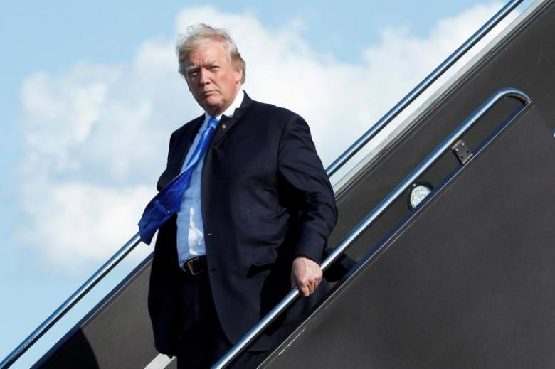 Tổng thống Mỹ Donald Trump - Ảnh: Reuters.<br>