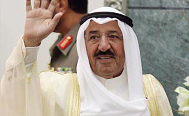 Tiểu vương Sheikh Sabah Al-Ahmad Al-Jaber al-Sabah, người trị vì Kuwait.