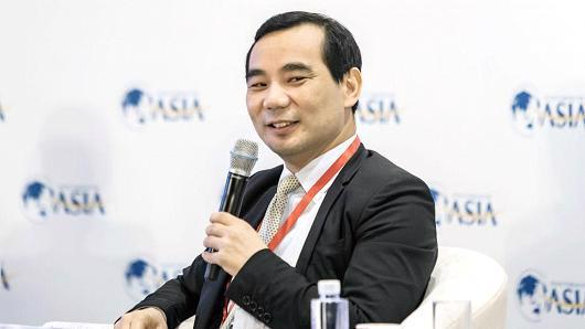 Ông Wu Xiaohui, Chủ tịch Anbang - Ảnh: Bloomberg/Getty.<br>