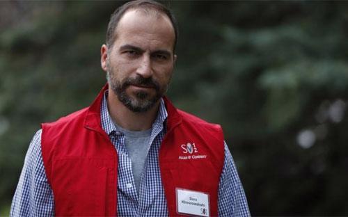 Ông Dara Khostrowshahi - Ảnh: Reuters.<br>