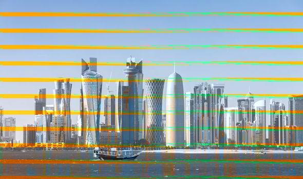 Thủ đô Doha của Qatar.<br>