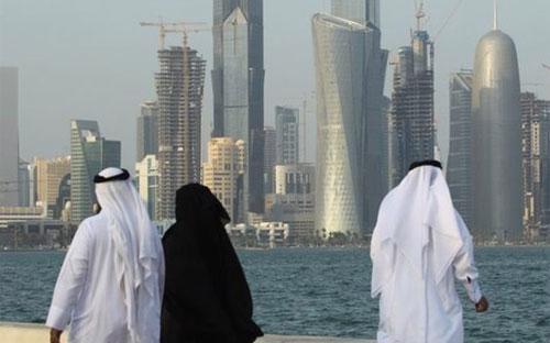 Qatar là quốc gia có thu nhập bình quân đầu người cao nhất thế giới - Ảnh: Getty/BBC.<br>