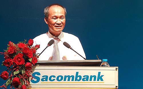 Ông Dương Công Minh, tân Chủ tịch Hội đồng Quản trị Sacombank - Ảnh: Hồng Vinh.<br>