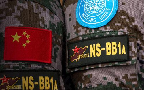 Sự hiện diện của binh sỹ Trung Quốc trong lực lượng gìn giữ hòa bình ở  châu Phi chỉ là một phần trong nỗ lực của Trung Quốc để trở thành một  cường quốc quân sự toàn cầu ngang tầm với Mỹ - Ảnh: CNN.<br>