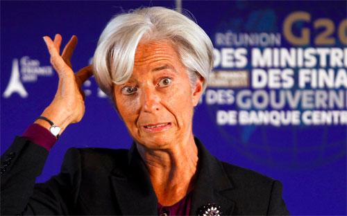 Tổng giám đốc IMF Christine Lagarde - Ảnh: Reuters/BI.<br>
