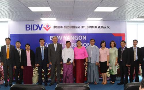 Đây cũng là kết quả của những nỗ lực bền bỉ góp phần thúc đẩy kinh tế Việt Nam - Myanmar suốt từ năm 2010 trở lại đây của BIDV.