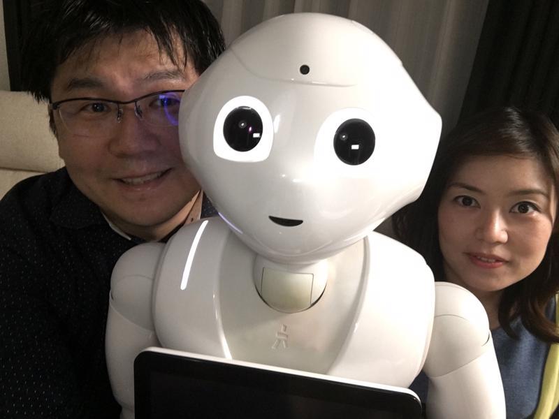 Một người máy ở Nhật Bản - Ảnh: Straits Times.