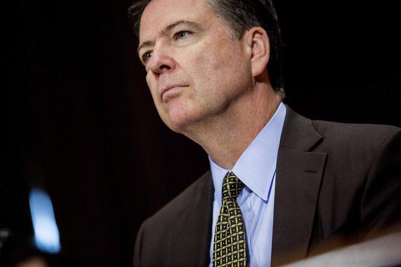 Giám đốc FBI vừa bị sa thải James Comey - Ảnh: Bloomberg.<br>