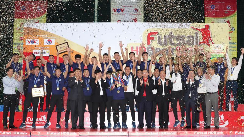 Lần thứ 10 đội tuyển Thái Sơn Nam giành chức Vô địch trong lịch sử thi đấu và là lần thứ 5 liên tiếp giành ngôi vương tại giải futsal.