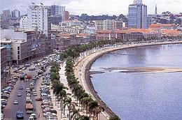 Một góc Luanda.