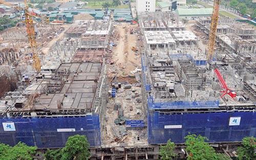 Sở Quy hoạch kiến trúc Hà Nội yêu cầu các dự án nhà cao tầng phải có tổi thiểu 3 tầng hầm để xe.<br>
