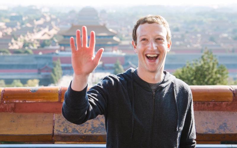 Mark Zuckerberg - nhà sáng lập, giám đốc điều hành Facebook.