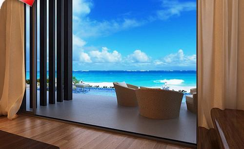"""Dự án Mövenpick Cam Ranh Resort là dự án """"đạt chuẩn"""" bậc nhất về vị trí và thiết kế ưu việt, hoàn toàn nhìn thấy biển."""