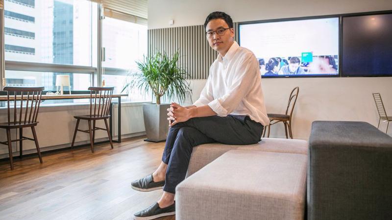 Lee Seung-gun, người sáng lập Viva Republica - Ảnh: Bloomberg.