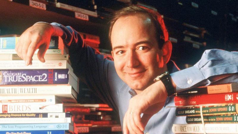 Jeff Bezos, người sáng lập, CEO của Amazon - Ảnh: Getty Images.
