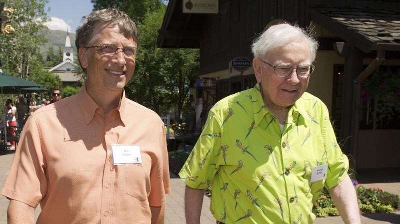 Bill Gates (trái) và Warren Buffett - Ảnh: Getty Images.