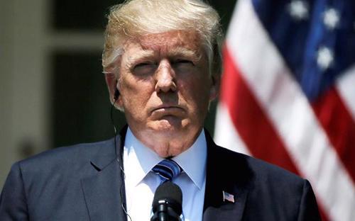 Tổng thống Mỹ Donald Trump - Ảnh: CNBC.<br>