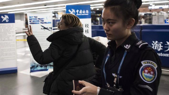 Hầu hết công dân Mỹ chỉ nhận biết được lệnh cấm xuất cảnh khi họ cố gắng rời khỏi Trung Quốc - Ảnh: AFP.