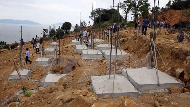 Một dự án bất động sản vi phạm tại Sơn Trà bị đình chỉ.