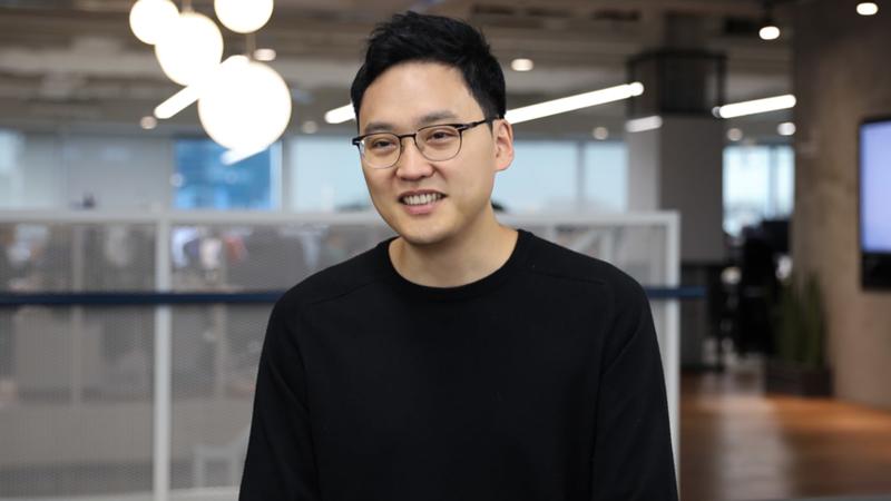 Seunggun Lee - người sáng lập, CEO của ứng dụng chuyển tiền Toss - Ảnh: Toss.