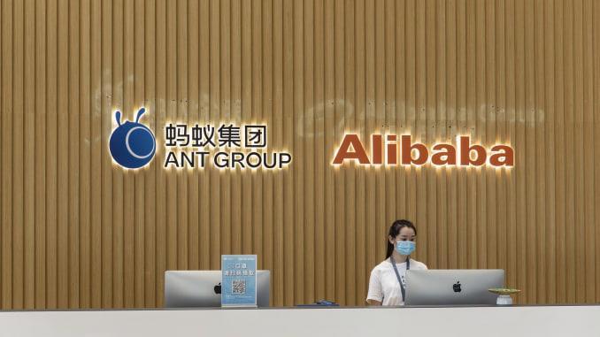 Ant Group dự kiến được định giá hơn 313 tỷ USD khi IPO - Ảnh: SCMP.