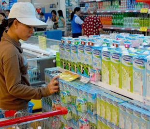 Những sản phẩm sữa có nguồn gốc rõ ràng vẫn giữ được uy tín trong lòng khách hàng.
