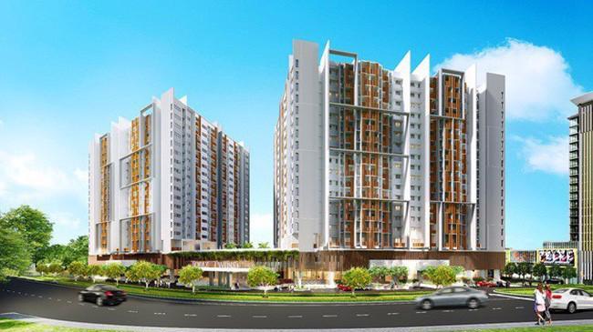 Dự án này gồm hơn 700 căn hộ cao cấp nằm trong khu phức hợp căn hộ, trung tâm thương mại và khách sạn 5 sao Biên Hoà City Square lớn nhất Biên Hoà.