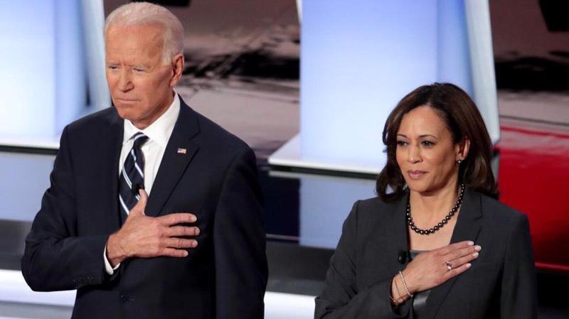 Ông Biden và bà Haris.