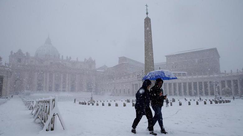 Nhiệt độ tại nhiều nơi ở châu Âu xuống mức thấp nhất mùa đông năm nay - Ảnh; Reuters.